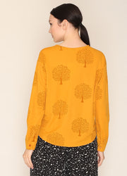 PEPALOVES / Top Vivien / Mustard