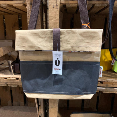 Shoulder Bag Boston / Kraft-Black