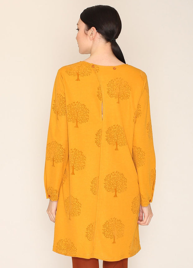 PEPALOVES / Dress Hepburn / Mustard