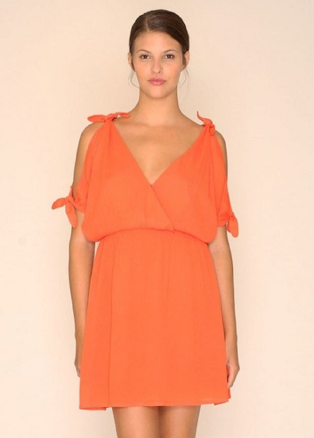 PEPALOVES / Dress Jenna / Coral