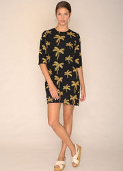 PEPALOVES / Dress Palm Tree / Black