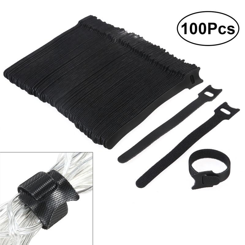 100pcs Reusable Cable Ties - Eco Haven