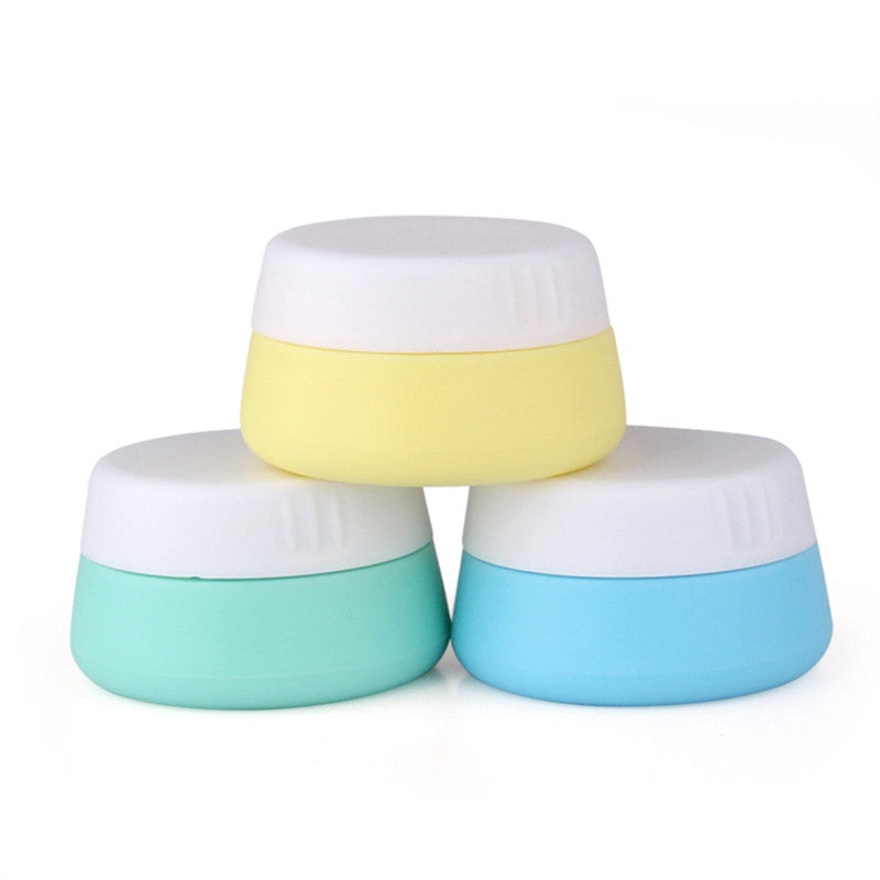3pcs 30ml Silicone Cosmetic Containers - Eco Haven