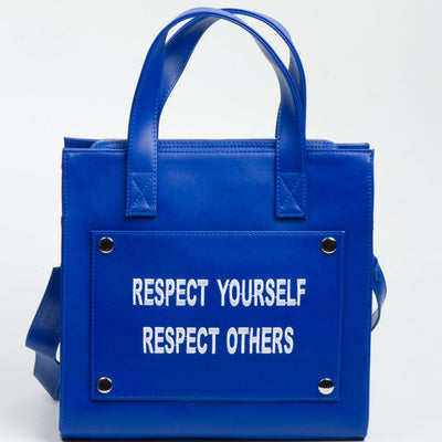 5377 - Respect - Vegan - Hand-made with love by Arida Bags