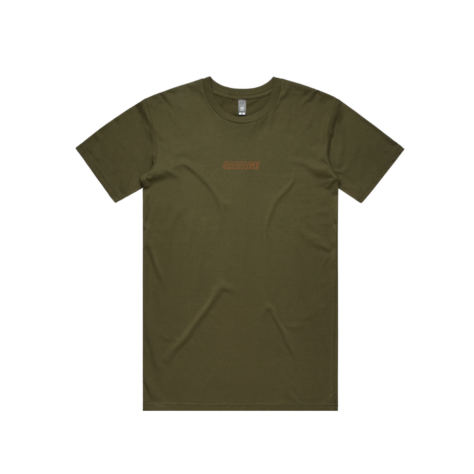 WARM UP TSHIRT - ARMY