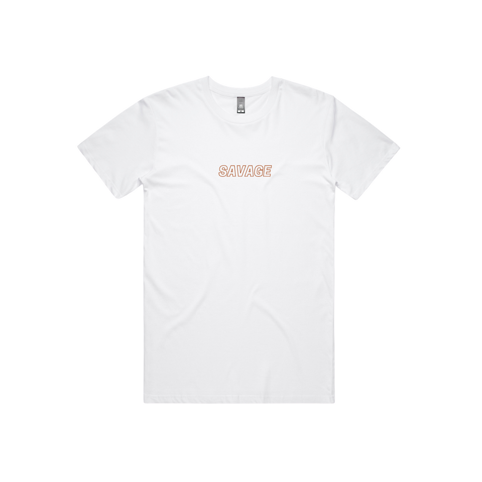 WARM UP TSHIRT - WHITE