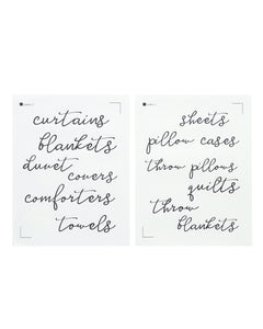 Label All the Things - Linen