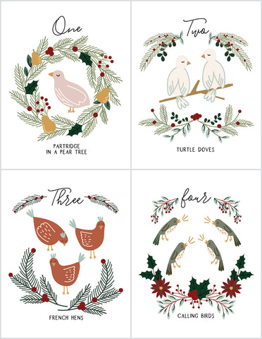 12 Days of Christmas Digital Download