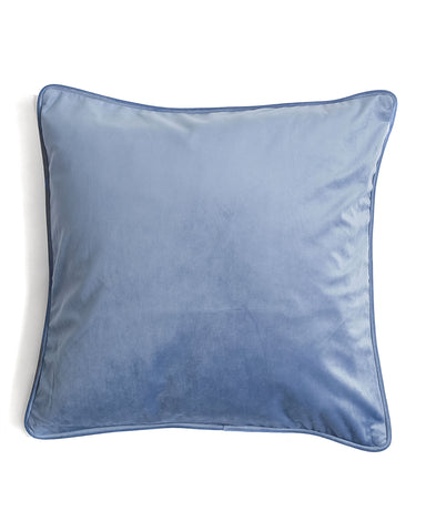 Luxe Velvet French Blue Pillow Cover