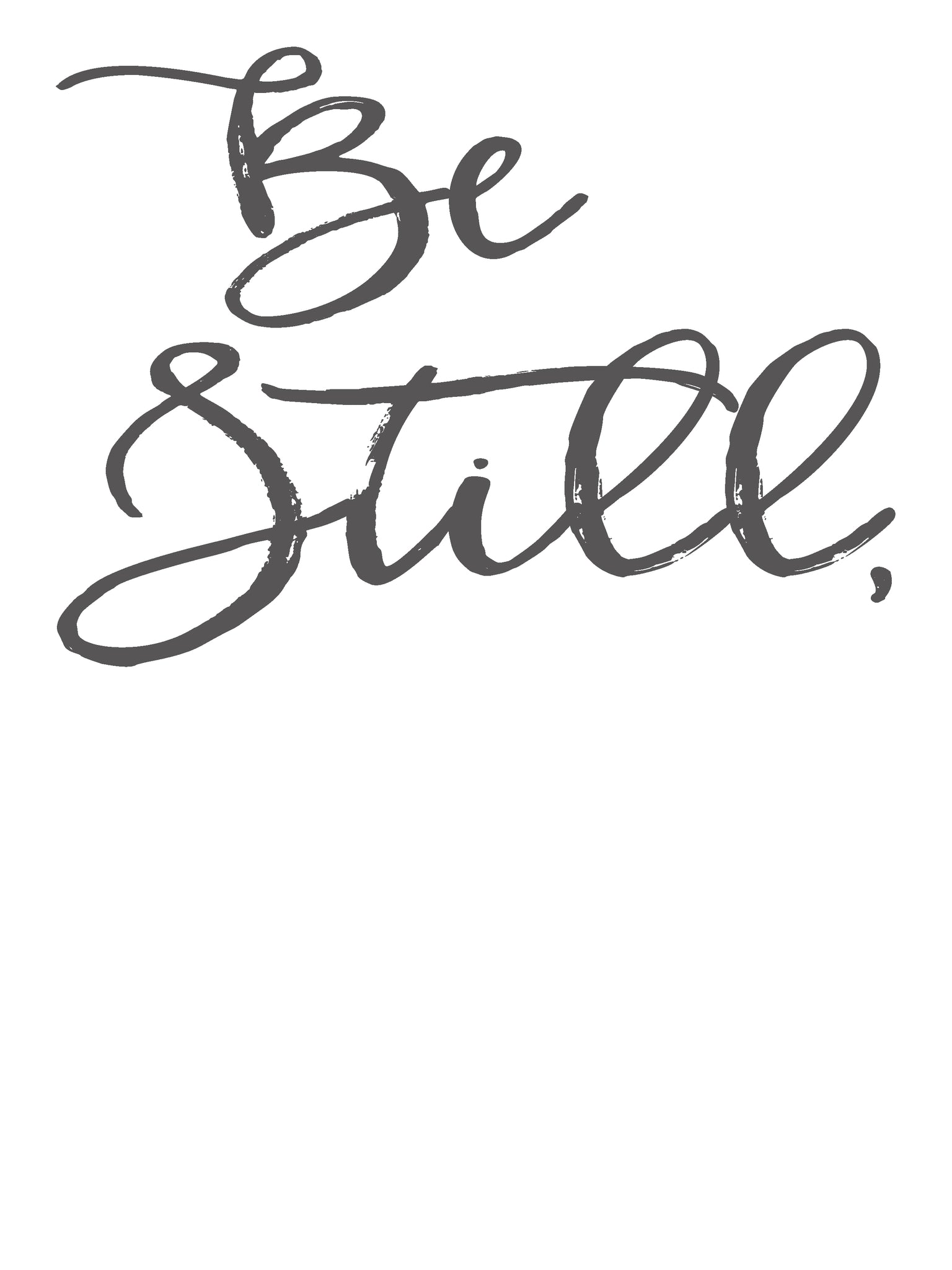 Be Still/My Soul Charcoal Download