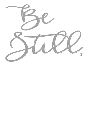 Be Still/My Soul Grey Download