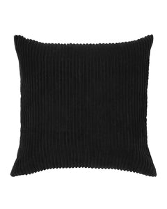 Jett Textured Velvet Pillow Cover