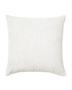 Ivory Velvet Pillow Cover