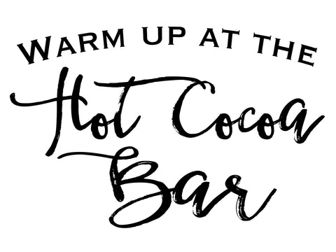 Hot Cocoa Bar Digital Download