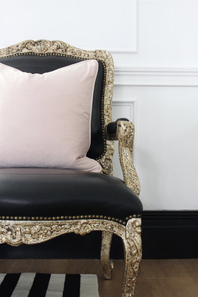 Luxe Velvet Blush Pillow Cover