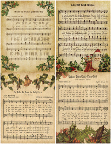 Vintage Christmas Music Bundle - Digital Download