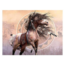 5D Diamond Painting Horse Bridge Park  DIY Diamond Embroidery Painting Mosaic Cross Stitch Decoration for Home Living Room