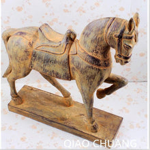 Creative Resin Crafts Brand New Imitation Out Soil Horse Home Desk Decorations Fashion Gifts Ornaments Cartoon RETAIL BOX S452