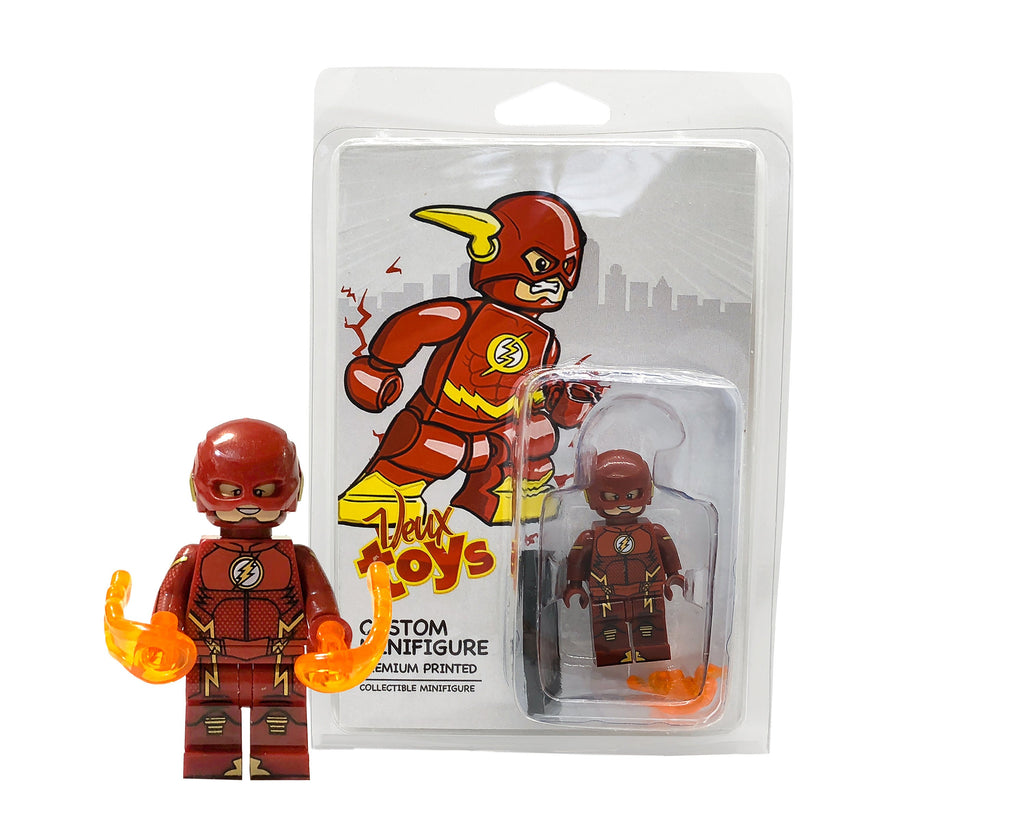 Dc Comics Custom Minifigures Set The Black Flash Zoom Flash Jay Veux Toys Shop