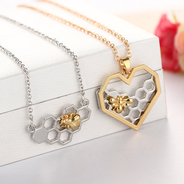 Honey Bee Necklace in two styles!