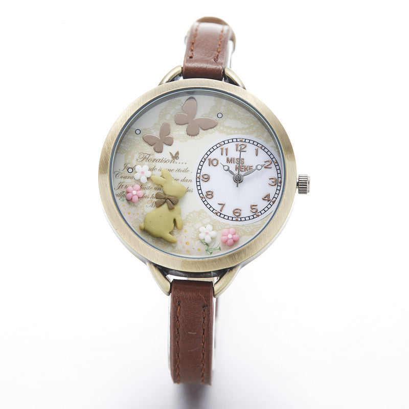 Miss Bunny -- Women's Butterfly Watches (main)