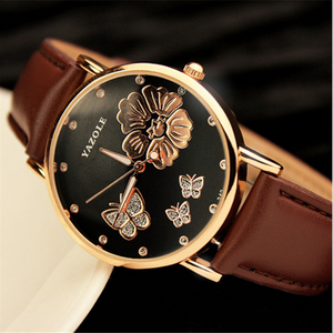 """Glitter"" -- Women's Butterfly Watches (main)"