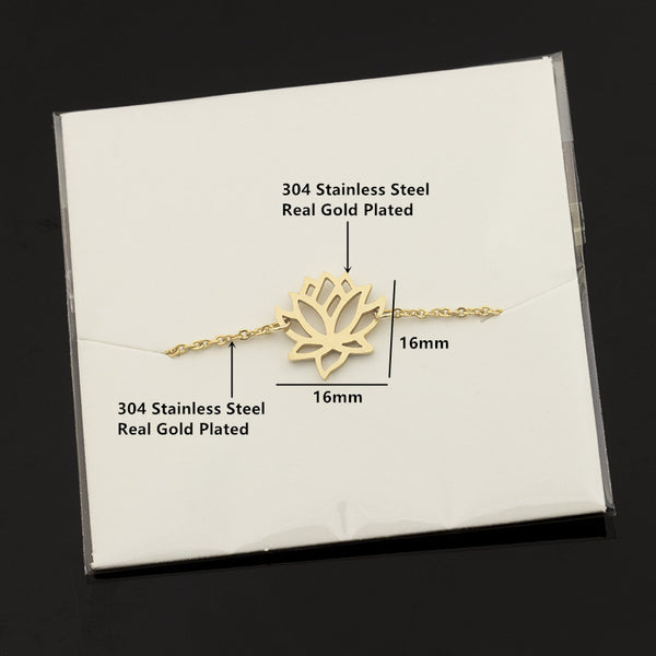 Zen Pond Lotus Flower Bracelet packing