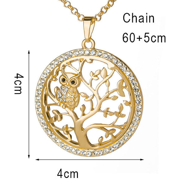 dimensions of the necklace pendant