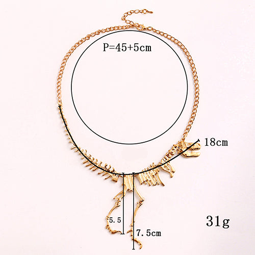 dimensions of the necklace