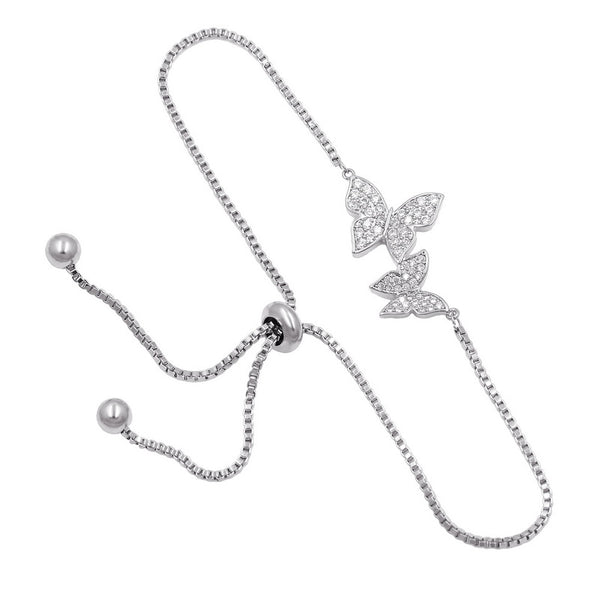Bracelets for women Butterfly bracelets (silver)