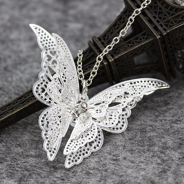 Butterfly necklace Statement necklace for women Cheap neclace