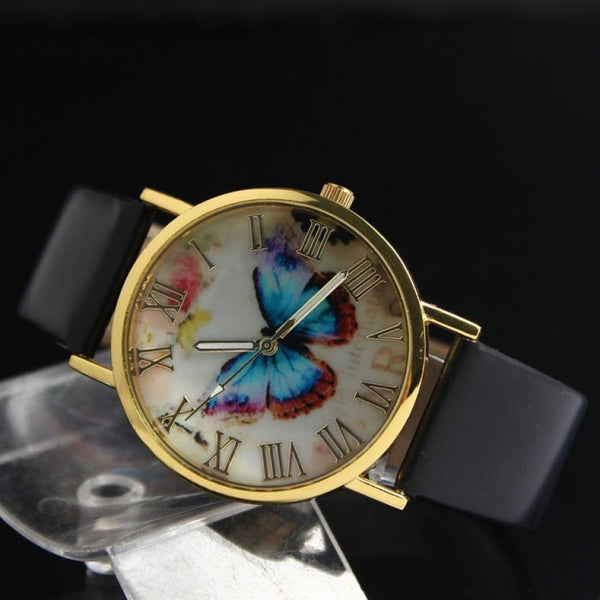 Roman Classic Women's Butterfly Watches horizontal