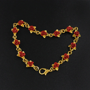 Red Rose Charm Bracelets for women (main view)