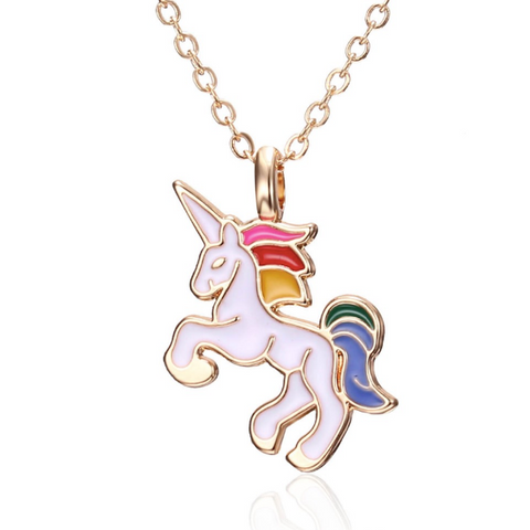 Rainbow Unicorn Necklace for women 1