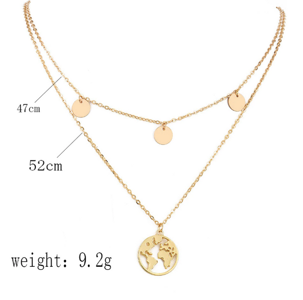 The necklace is around 47cm circumference