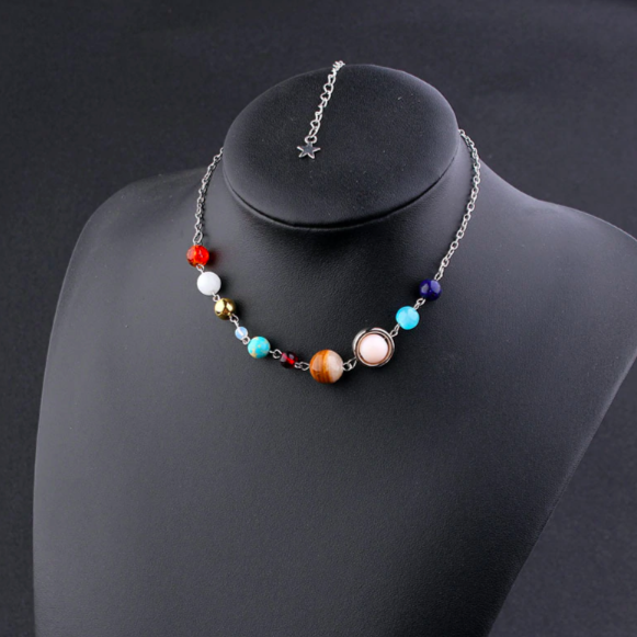 Solar system necklace Women necklace Fashion necklace for women (main view)