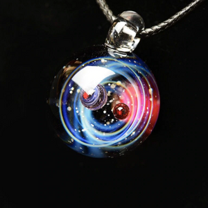 Universe necklace for women Galileo universe necklace Galaxy pendant (main view)