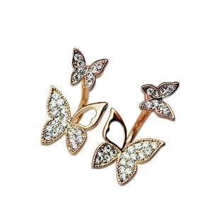 Butterfly earrings Stud earrings for women Cheap earring (main view)