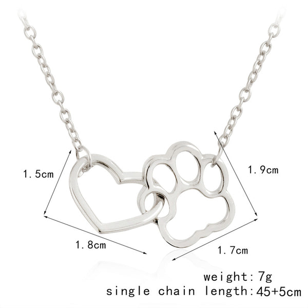 dimensions of the charm necklace