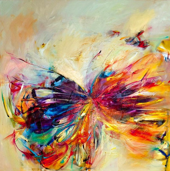 New modern home decor living room bedroom decor colorful butterfly wall Art Picture printed oil Painting on Canvas art prints