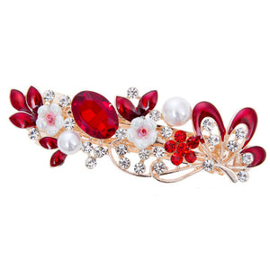 Hair Clips (red)