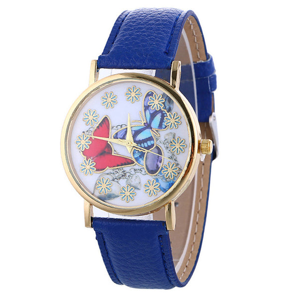 """The Graceful"" -- Women's Butterfly Watch"