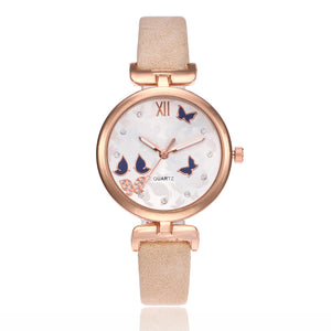 Butterfly women watches (slim design)