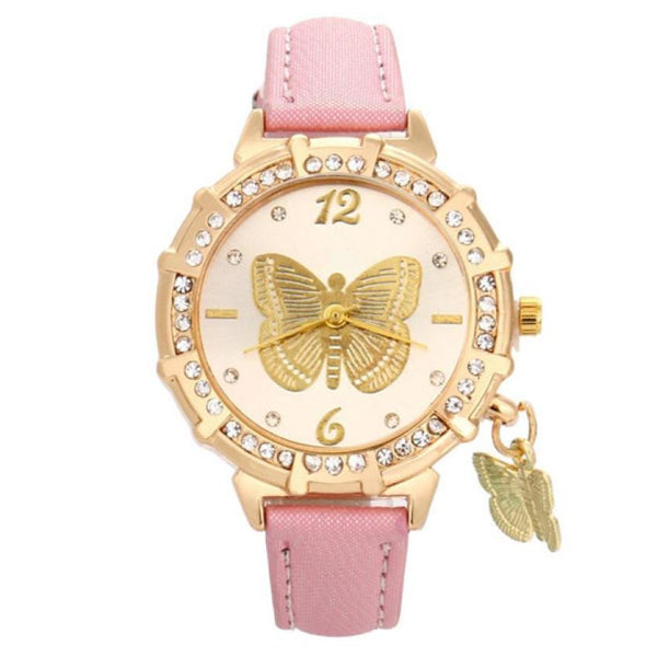 """Dancing"" -- Women's Butterfly Watch"