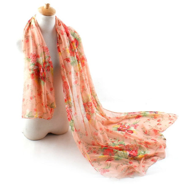 Wholesale New Fashion Women Butterfly Print Soft Long Scarf Cotton Scarves Neck Wrap Shawl Stole Spring Autumn Scarves for Women