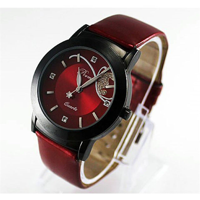 Modern Glamor Butterfly Watch red