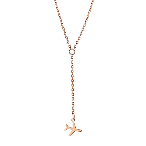 Airplane necklace Fashion necklace for women Cheap neclace (main view)