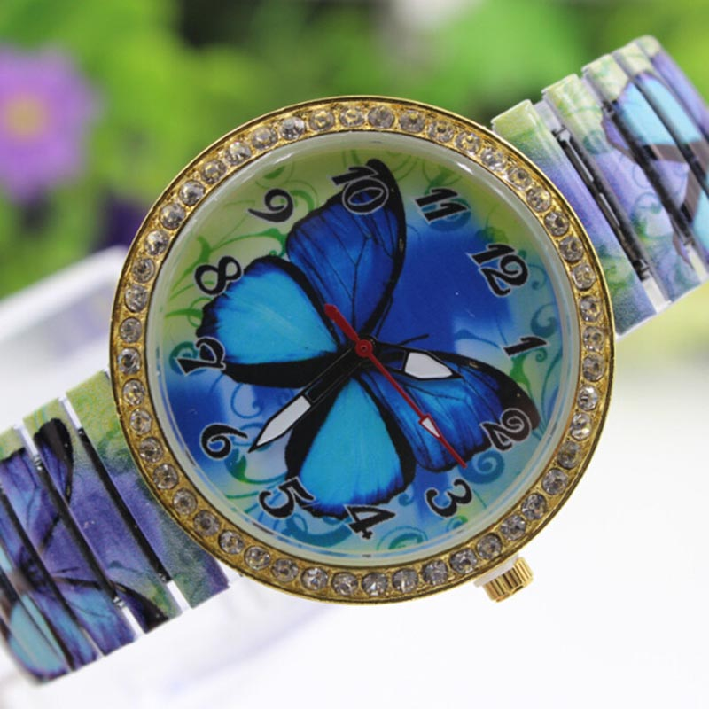 Blue Paradise Butterfly Watch main