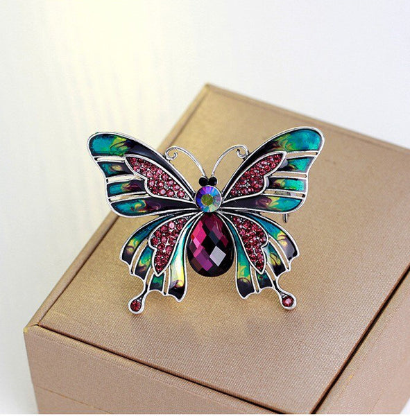 butterfly-scarf-pin