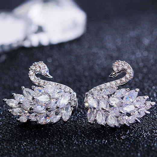 white version of the earrings
